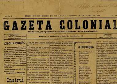 Gazeta Colonial - 1906 a 1908